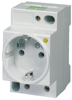 MSVD POWER SOCKET VDE WITH LED