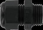 CABLE COMPRESSION GLAND PG 9 BLACK
