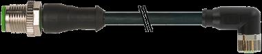 M12 St. 0° / M8 Bu. 90° V4A