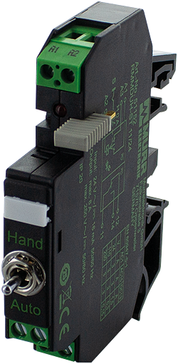 RMMDUH-ST 11/24 OUTPUT RELAY WITH TOGGLE SWITCH