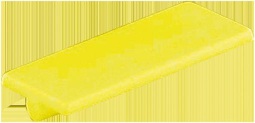LABEL PLATES (YELLOW)