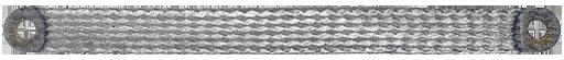 GROUNDING STRIP 6MM² 300MM FOR M4